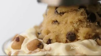 Sonic Drive-In Big Scoop Cookie Dough TV Spot, 'Blast & Sundae' - Thumbnail 4