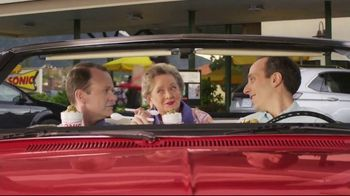 Sonic Drive-In Big Scoop Cookie Dough TV Spot, 'Blast & Sundae'
