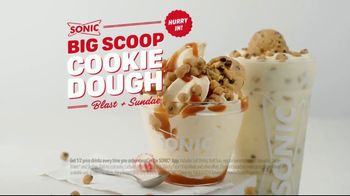 Sonic Drive-In Big Scoop Cookie Dough TV Spot, 'Blast & Sundae' - Thumbnail 8