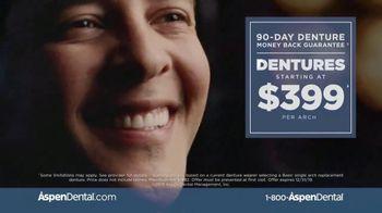 Aspen Dental TV Spot, 'A.J.'s Denture Story: First Picture'