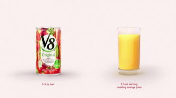 V8 Juice TV Spot, 'Orange Juice'