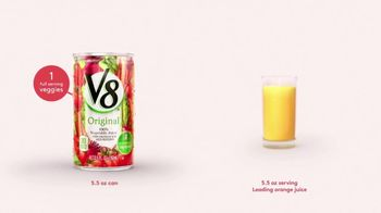 V8 Juice TV Spot, 'Orange Juice' - Thumbnail 3