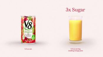 V8 Juice TV Spot, 'Orange Juice' - Thumbnail 4