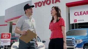 Toyota Camry Commercial Song >> Toyota National Clearance Event TV Commercial, 'Great Deals for All Our Friends' [T2] - iSpot.tv
