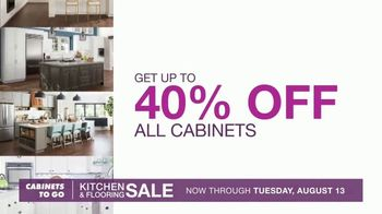 Cabinets To Go Kitchen & Flooring Sale TV Spot, 'A Price You Won't Believe' - Thumbnail 3