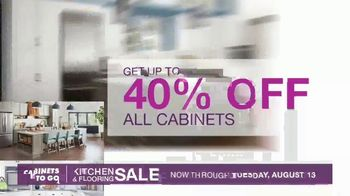 Cabinets To Go Kitchen & Flooring Sale TV Spot, 'A Price You Won't Believe' - Thumbnail 4