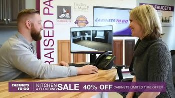 Cabinets To Go Kitchen & Flooring Sale TV Spot, 'A Price You Won't Believe' - Thumbnail 8