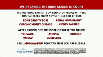 1-800-LAW-FIRM TV Spot, 'TDF Drugs: Truvada Lawsuit' - Thumbnail 2