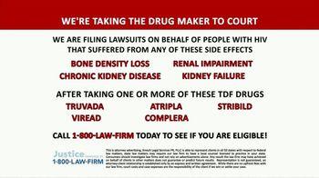 1-800-LAW-FIRM TV Spot, 'TDF Drugs: Truvada Lawsuit' - Thumbnail 3