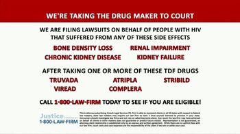 1-800-LAW-FIRM TV Spot, 'TDF Drugs: Truvada Lawsuit' - Thumbnail 4