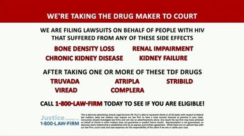 1-800-LAW-FIRM TV Spot, 'TDF Drugs: Truvada Lawsuit' - Thumbnail 5
