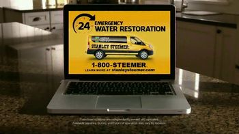 Stanley Steemer 24 Hour Emergency Water Restoration TV Spot, 'We Get There Fast' - Thumbnail 6