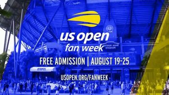 US Open TV Spot, '2019 Fan Week' - Thumbnail 10