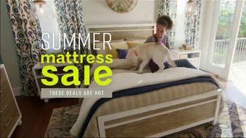 Ashley HomeStore Summer Mattress Sale TV Spot, 'Savings Are Heating Up' Song by Midnight Riot - Thumbnail 2