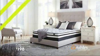 Ashley HomeStore Summer Mattress Sale TV Spot, 'Savings Are Heating Up' Song by Midnight Riot - Thumbnail 4
