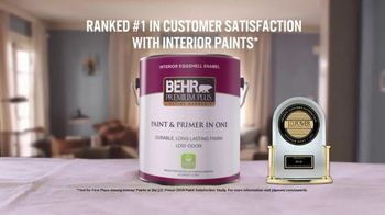 BEHR Paint TV Spot, 'Job Well Done: Interior Paint' - Thumbnail 7