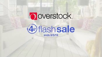 Overstock.com Four Day Flash Sale TV Spot, 'Extra 10 Percent off Top Rated Furniture' - Thumbnail 1