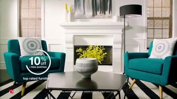 Overstock.com Four Day Flash Sale TV Spot, 'Extra 10 Percent off Top Rated Furniture' - Thumbnail 3
