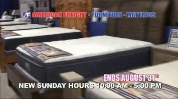 American Freight Mattress Blowout TV Spot, 'Deluxe Foam Mattress Sets and Cooling Gel Top Mattress' - Thumbnail 10