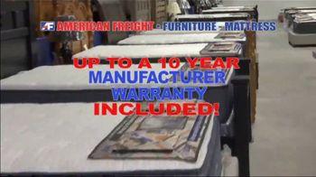 American Freight Mattress Blowout TV Spot, 'Deluxe Foam Mattress Sets and Cooling Gel Top Mattress' - Thumbnail 4