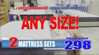 American Freight Mattress Blowout TV Spot, 'Deluxe Foam Mattress Sets and Cooling Gel Top Mattress' - Thumbnail 7