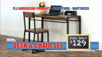 American Freight Back to School Savings TV Spot, 'Desk and Chair Sets' - Thumbnail 3