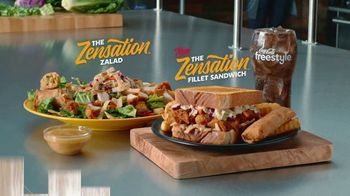 Zaxby's Zensation Zalad TV Spot, 'Frosted Tips' - Thumbnail 10