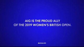 AIG Direct TV Spot, 'Allies: 2019 Women's British Open' - Thumbnail 7