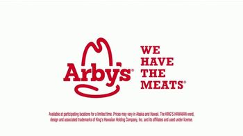 Arby's King's Hawaiian Sliders TV Spot, 'If You've Been Holding Out' - Thumbnail 9