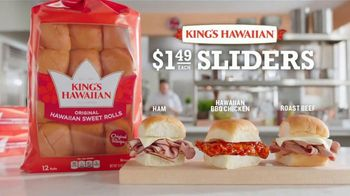 Arby's King's Hawaiian Sliders TV Spot, 'If You've Been Holding Out'