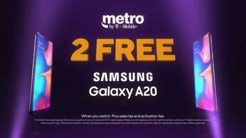 Metro by T-Mobile TV Spot, 'Switch Now: Samsung Galaxy A20' Song by Usher