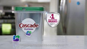 Cascade Platinum TV Spot, 'Get Sparkling Dishes' - Thumbnail 8