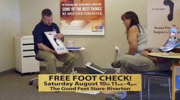 The Good Feet Store TV Spot, 'Free Foot Check: Riverton'