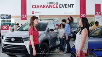 Toyota National Clearance Event TV Spot, 'Win, Win' [T1] - Thumbnail 1