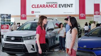 Toyota National Clearance Event TV Spot, 'Win, Win' [T1] - Thumbnail 3