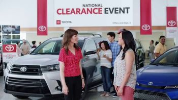 Toyota National Clearance Event TV Spot, 'Win, Win' [T1] - Thumbnail 6