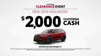 Toyota National Clearance Event TV Spot, 'Win, Win' [T1] - Thumbnail 8