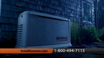 Generac Automatic Home Standby Generator TV Spot, 'Power When You Need It'