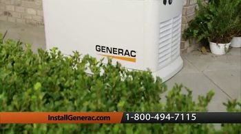 Generac Automatic Home Standby Generator TV Spot, 'Power When You Need It' - Thumbnail 4
