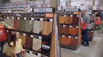 The Home Depot TV Spot, 'Unexpected: Laminate, Vinyl and Tile' - Thumbnail 3