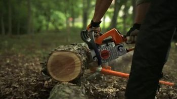 STIHL TV Spot, 'Real Stihl: MS 250 Chainsaw for $299'