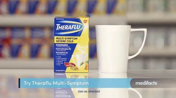 Theraflu Multi-System Severe Cold TV Spot, 'Medifacts: Attacks Symptoms Fast' - Thumbnail 3