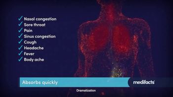 Theraflu Multi-System Severe Cold TV Spot, 'Medifacts: Attacks Symptoms Fast' - Thumbnail 5