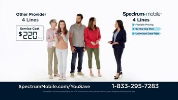 Spectrum Mobile TV Spot, 'Jones Family: Customize Your Plan' - Thumbnail 3