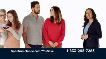 Spectrum Mobile TV Spot, 'Jones Family: Customize Your Plan' - Thumbnail 4