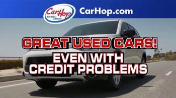 CarHop Auto Sales & Finance TV Spot, 'Couple Hundred Down' - Thumbnail 1