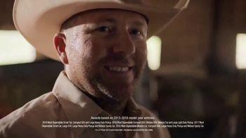 Chevrolet TV Spot, 'J.D. Power Dependability Awards: Real Presenters' [T1] - Thumbnail 8