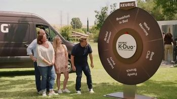 Keurig K-Duo TV Spot, 'Spinner' Featuring James Corden