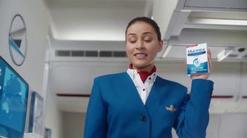 Mucinex 12 Hour TV Spot, 'Flight' - Thumbnail 5