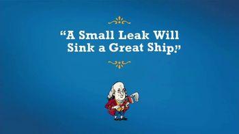 Benjamin Franklin Plumbing TV Spot, 'Sink a Great Ship: $59 Off Any Repair'